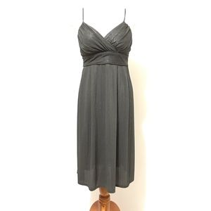 Cocktail Dress S Gray New Gala Occasion Party Midi